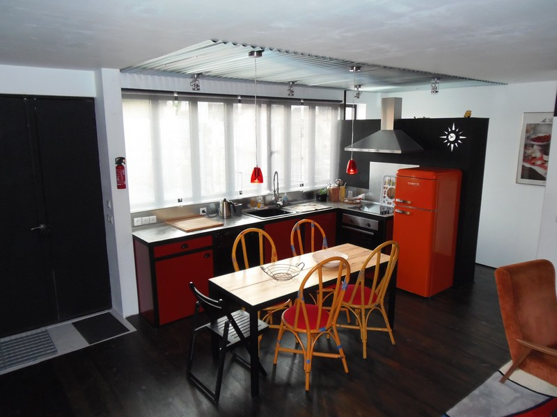 kitchen holidays rental house at loches