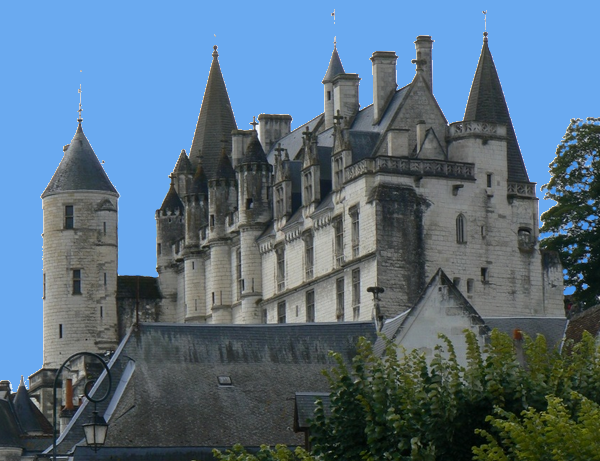 Castle holidays rental house at loches